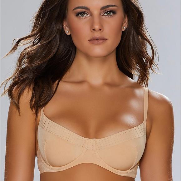 ba756e962cc5 Elle McPherson Intimates & Sleepwear | Demi Underwire Bra Nude Beige ...